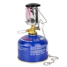 Portable Lightweight Outdoor Camping Travel Steam Light Practical Mini Tent Lantern Gas Heater Equipment
