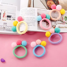 Новинка мода девушка% 27 конфеты цвет мяч волосы резинки ребенок волосы веревка волосы резинки резинка резинка милый резинка