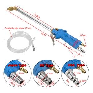 Image 2 - Wysokowydajne pneumatyczne urządzenia do oczyszczania silnika pistolet na wodę z wężem 100cm 40cm silnik samochodowy narzędzia do czyszczenia oleju
