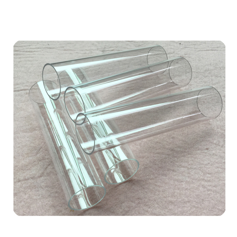 New Style Recommended PC Transparent Plastic Pipe PC Tube CBD Packaging PC Conduit Customizable Production