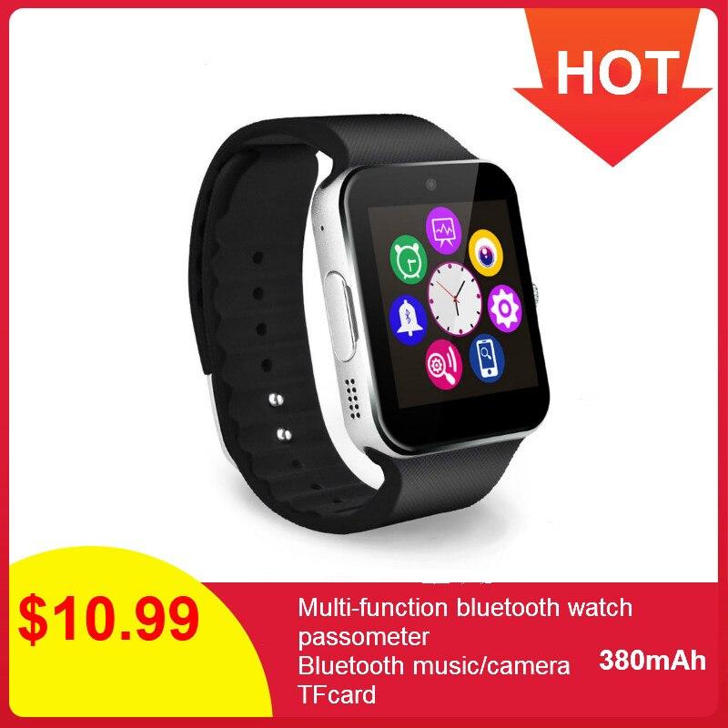 GT08 Homens Relógio Inteligente SIM Card Apoio TF Gravador de Voz Música Chamada Bluetooth Relógio Telefone Android Smartwatch Relógio de Pulso Das Mulheres