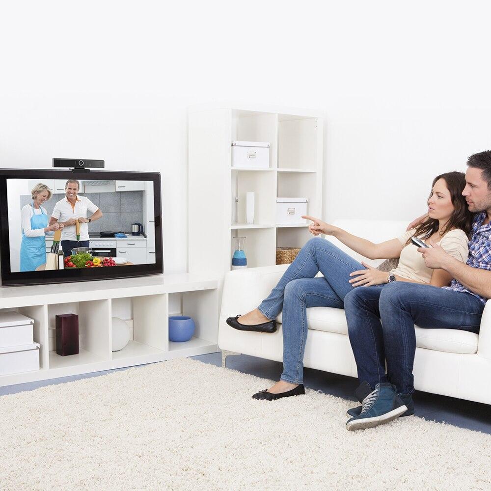 Câmera de rede vídeo player caixa de bate-papo de vídeo android definir caixa superior zoom skype vídeo conferência tudo em uma máquina-4