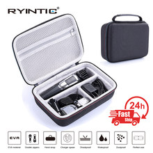EVA Storage Travel Portable Box Cover Bag Case for Philips Norelco Multigroom Series 3000 5000 7000 MG3750 MG5750/49 MG7750/49