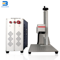 Hot Sell desktop Fiber 20W Laser Marker Air Cooling 110*110mm Fiber Laser Marking Machine