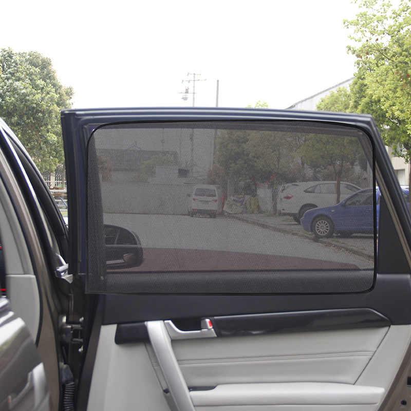 2019 quente magnético carro proteção uv, do sol da janela do carro proteção uv do sol sombra janela lateral viseira do carro proteção do sol 1 peça