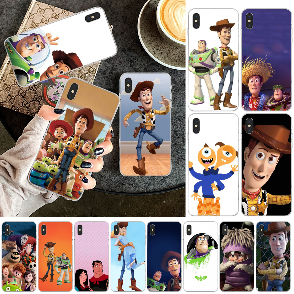 Viviana Cute Cartoon <font><b>Toy</b></font> <font><b>Story</b></font> candy Soft Shell Phone Case <font><b>Capa</b></font> for <font><b>iPhone</b></font> 11 pro XS MAX 8 7 <font><b>6</b></font> 6S Plus X 5 5S SE XR cover image