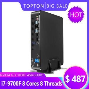 Image 5 - Super Mini Gaming PC Intel Core i9 9900 i7 9700F GPU GTX1050TI 4G Windows 10 Pro Nuc Computer NVMe 2 * HDMI2.0 DP Ac Wifi
