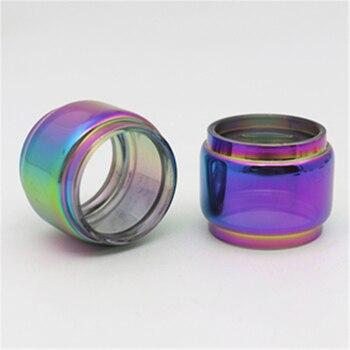 2PCS YUHETEC Rainbow Bubble GLASS TUBE for smok stick X8 V8 TFV8 Big Baby X-BABY EU X V H S T H-Priv g320 Veneno kit fatboy Tank