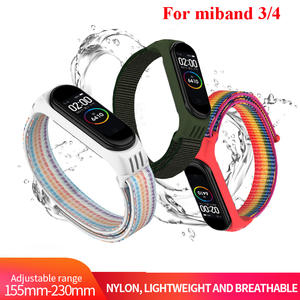 Bracelet Mi-Band Xiao Mi Watch-Straps Nylon Breathable 4-Sport for 4/3-strap/Miband/..