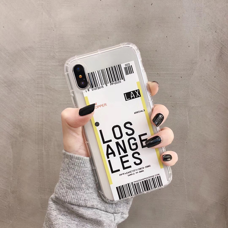 Funny Bar Label Case for iPhone SE (2020) 34