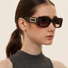 Солнечные очки в прямоугольной оправе uv400 для мужчин и женщин