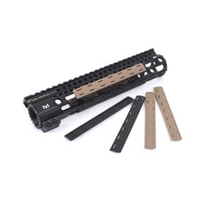 Taktis BCM M-Lok Rel Panel Kit Untuk M-Lok Handguard Picatinny Rail Cover 5 Pcs/set M Lok ar-15 Handguard Panel Rel Penutup Mount(China)