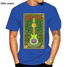 SANTANA Lotus Gitarre T-Shirt S-M-L-XL Marke Neue Offizielle Hallo Fidelity Waren Baumwolle Geburtstag Geschenk Tops T Shirt