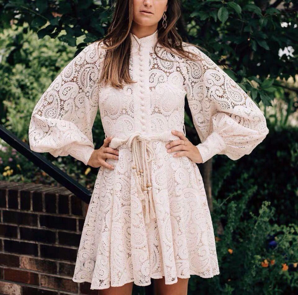 2019 새로운 도착 고품질 레이스 드레스-에서드레스부터 여성 의류 의  그룹 1