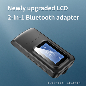 Image 3 - VAORLO עם LCD תצוגת Bluetooth 5.0 אודיו מקלט משדר 3.5MM AUX שקע סטריאו USB מתאם אלחוטי Dongle עבור מחשב טלוויזיה רכב