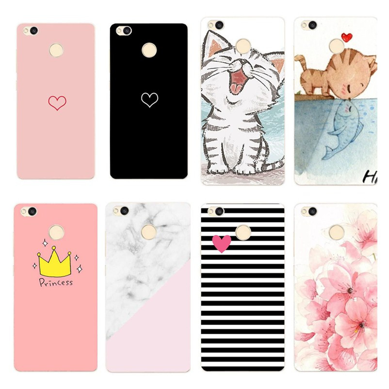 Phone <font><b>Cases</b></font> For Xiaomi <font><b>Redmi</b></font> <font><b>4X</b></font> <font><b>Case</b></font> Cute Silicone Soft <font><b>TPU</b></font> Back Cover For <font><b>Xiomi</b></font> <font><b>Redmi</b></font> 4A <font><b>Note</b></font> 4 5A Plus Redmi4X <font><b>Case</b></font> Hongmi <font><b>4X</b></font> image