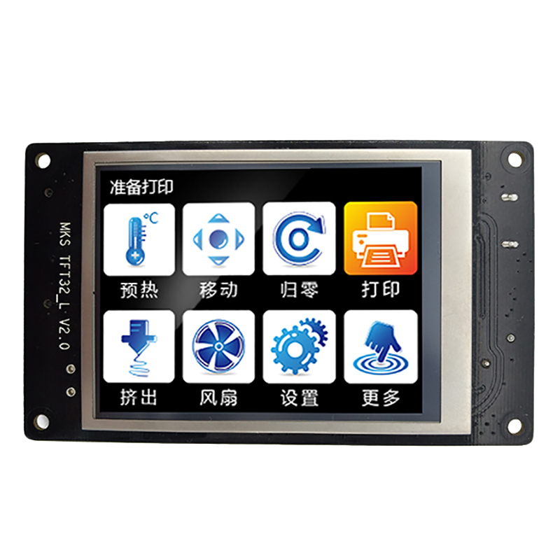 Makerbase 3.2 Inch 3D Printer Contact Screen Smart Controller Display MKS TFT32 Support APP/Bluetooth/Editing/Multi-Language
