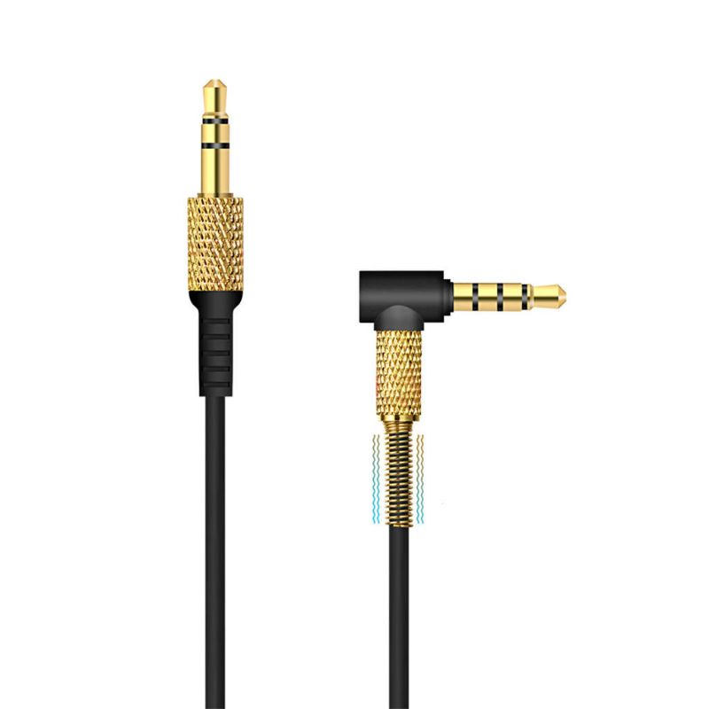 Spring Audio Cable Cord Line For Marshall Major II 2 Monitor Bluetooth Headphone