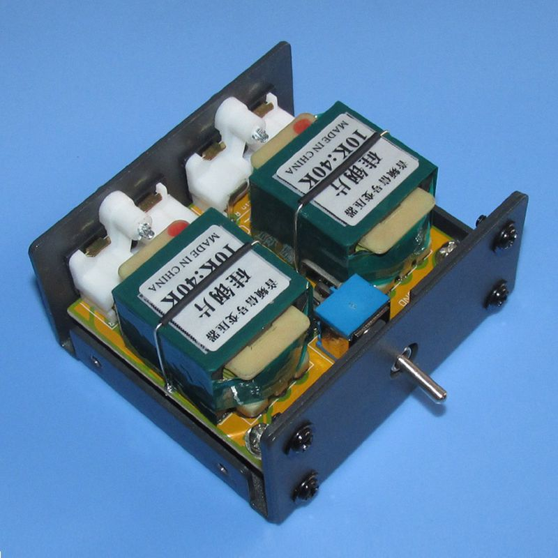 Frequency response: 20Hz-75KHz -1db Withstand voltage: 500V DC10K: 40K 2 times signal step-up amplifier audio transformer