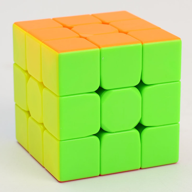 QiYi Warrior W 3x3x3 carbon fibre Professional Magic Cube Competition 3x3 Speed Puzzle Cubes Toys For Children Kids Best Gift 3