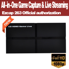 Ezcap263 U3 HD60 All-in-One Gioco Capture & Live Streaming USB 3.0 Video Record VLC Per OBS con IL MIC