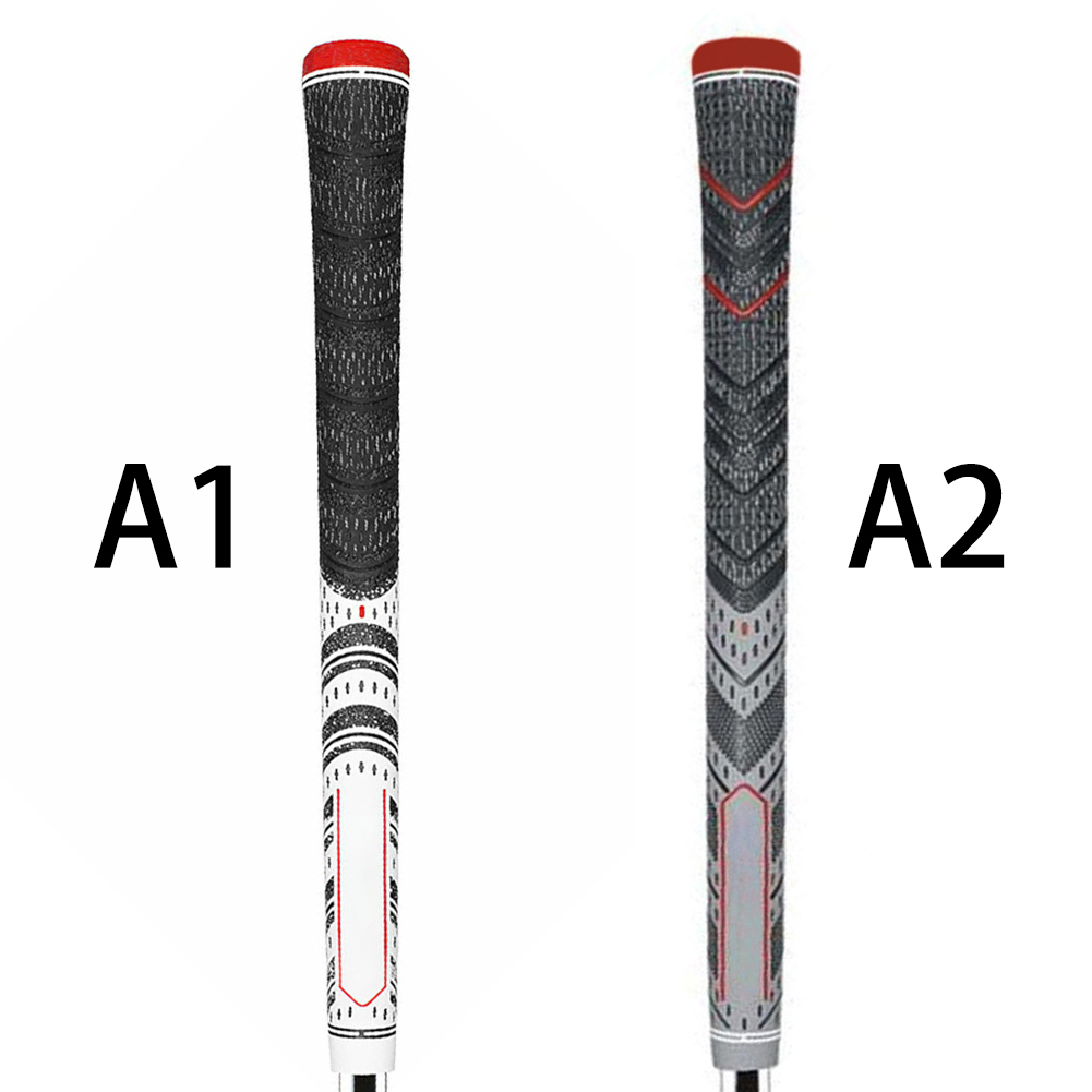 Multi Compound Golf Grips Standard Size All Weather Rubber Golf Club Grips For Clubs Wedges Drivers Irons Hybrids