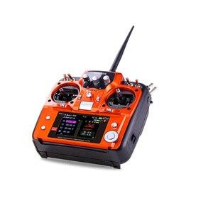 Image 5 - RadioLink AT10 השני 2.4Ghz 10CH RC משדר עם R12DS מקלט PRM 01 מתח להחזיר מודול עם צוואר רצועה עבור מתנה