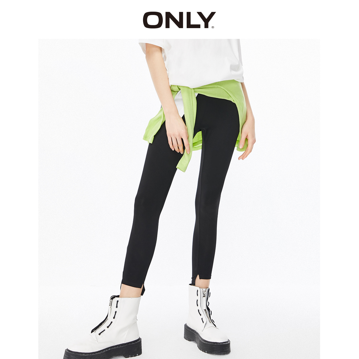 ONLY Women's Slim Fit High-rise Leggings | 120165501