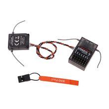 AR6210 приемник+ JR пульт дистанционного управления полный набор DSM-X DSM2 для Spektrum 6-канальный