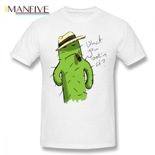 Mafia T Shirt Mafia Boss Cacti T-Shirt 6xl Men Tee Shirt Fun Fashion Printed Short Sleeves 100 Percent Cotton Tshirt цены