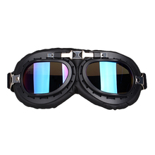 Motorcycle Glasses Universal Vintage Goggles Windproof Eyewear Motorbike Scooter Biker Glasses Motocross Helmet Goggles motorcycle atv riding scooter driving flying protective frame clear lens portable vintage helmet goggles glasses for 2009 buell xb12r