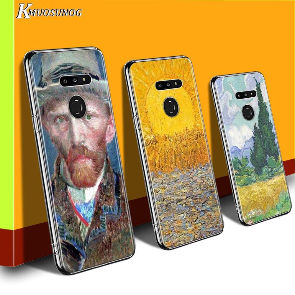 Vincent Van Gogh For LG W20 W10 V50S V50 V40 V30 K50S K40S K30 K20 Q60 Q8 Q7 Q6 G8 G7 G6 Thinq Phone Case