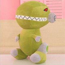 Милый мягкий мультфильм робот динозавр форма плюшевая игрушка для детей