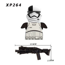 13 pz/lotto Custom Compatibile CLONE TROOPER STORM TROOPER CLONE TROOPER SOLIDER Armi Impero del capretto mini giocattoli Blocchi di PARTI(China)