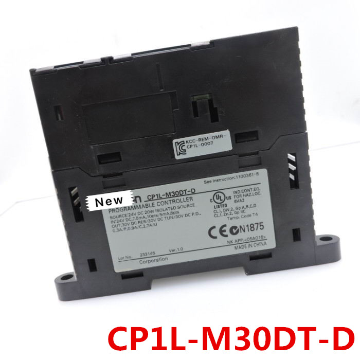 1 Year Warranty New Original  In Box   CP1L-M30DT-D   CP1L-M30DR-D   CP1L-M40DT-D  CP1L-M60DT-D  CJ2M-CPU11