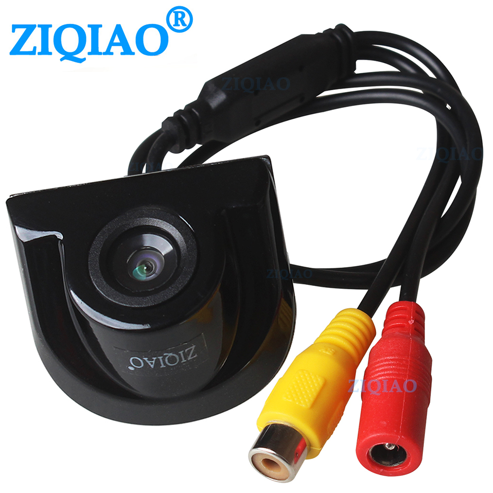 ZIQIAO CCD Car Rear View Camera Auxiliary Parking Monitoring Waterproof Camera Universal Reverse Parking Camera HS028