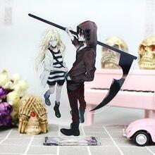 16cm anjos da morte anime figura acrílico carrinho modelo brinquedos ray & zack figuras de ação decoração cosplay collectible presentes aniversário