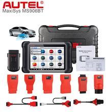 Autel أداة تشخيص تلقائية MaxiSys MS906BT ، قارئ رمز ، ماسح ضوئي ، أفضل ، MS906