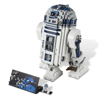 2020 IN Stock 05043 Star Wars Space Out of Print The R2-D2 Robot Set Model Building Blocks 2127pcs Bricks Toys Compatible 10225 2