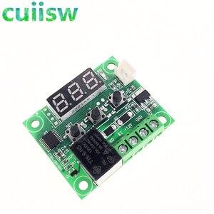 Image 5 - 10pcs W1209  50 100C DC 12V digital temperature controllear thermostat temperature control thermostat switch plate W1209