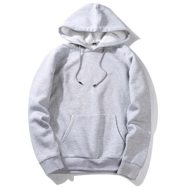 2020 봄 가을 남성 두꺼운 양털 후드 남성 힙합 순수한 후드 두꺼운 겨울 Hoody 스웨터 남여 Streetwear 후드