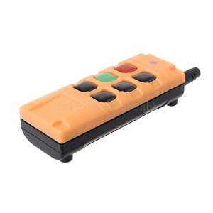 Image 5 - AK G06T Factory Supply High Grade Remote Control 315/433MHZ Wireless Industrial Crane Truck Remote Controller 4/6 Button Keys