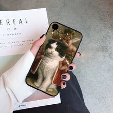 Funny Art Abstract Phone Case Coque For iPhone xr 7 8 6 6S Plus x XS MAX 5 5S Hard Acrylic Phone Cover For iPhone 8 7 Plus цена и фото