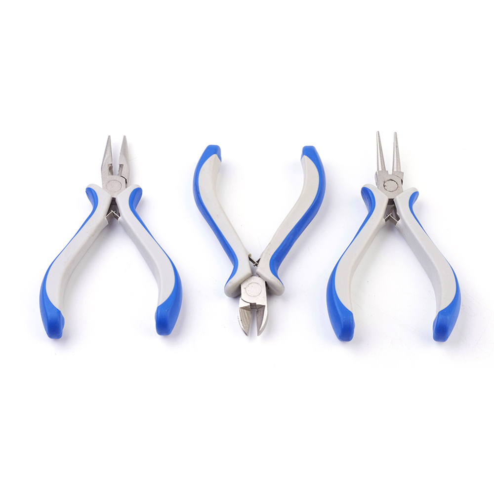 DIY Jewellery Tools Equipment Sets Pliers Sets Round Nose Side Cutting Pliers