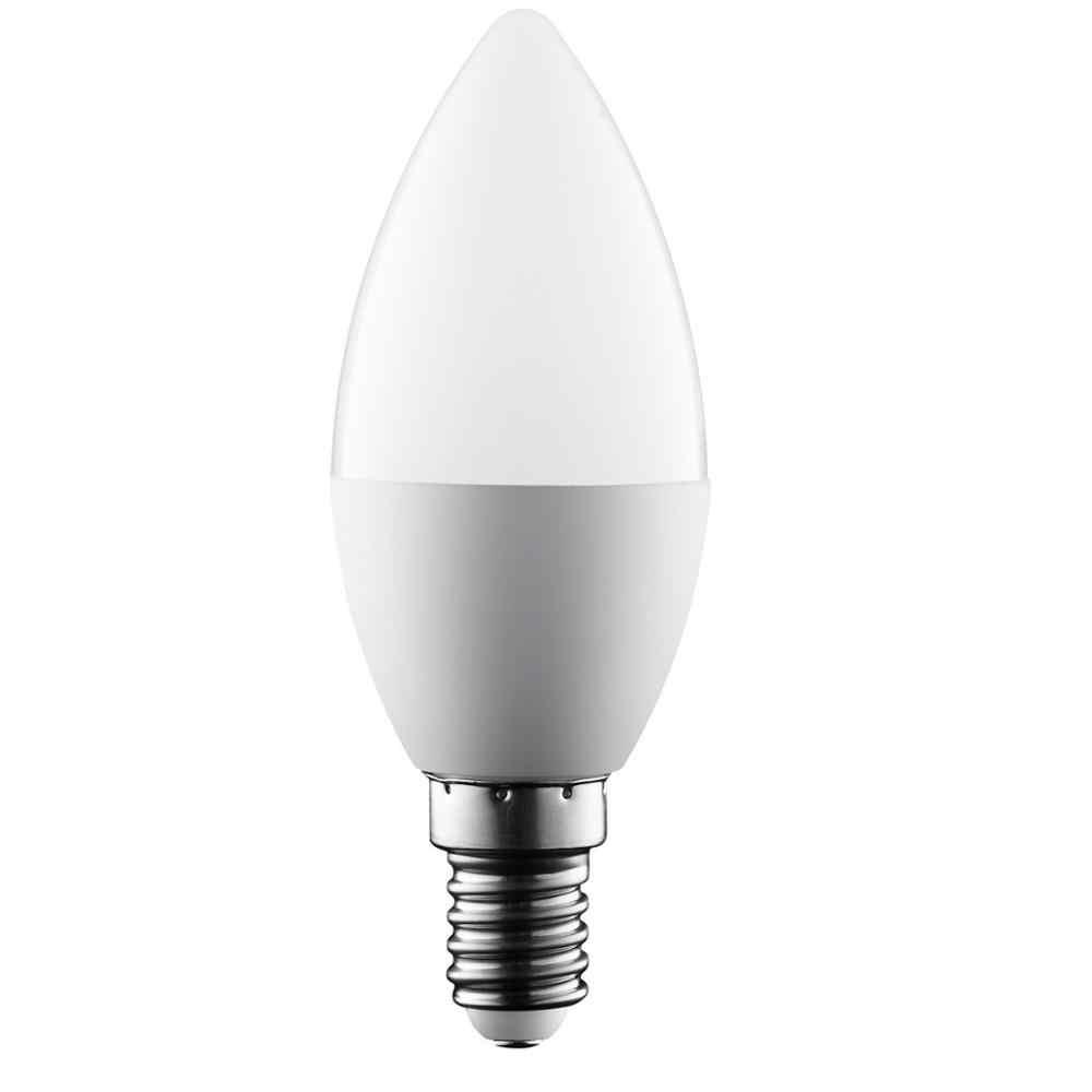 Żarówka świeczka Led E14 E27 3W 7W 9W oszczędność energii reflektor ciepły/zimny biały lampa kryształowa chandlier ampułka Bombilla świeca domowa