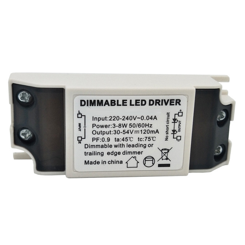 <font><b>3W</b></font> 6W 7W 8W 9W 10W 12W 14W 15W Triac Dimming <font><b>LED</b></font> Power Supply 300/350/500/<font><b>700mA</b></font> Power Transformer Dimmable image