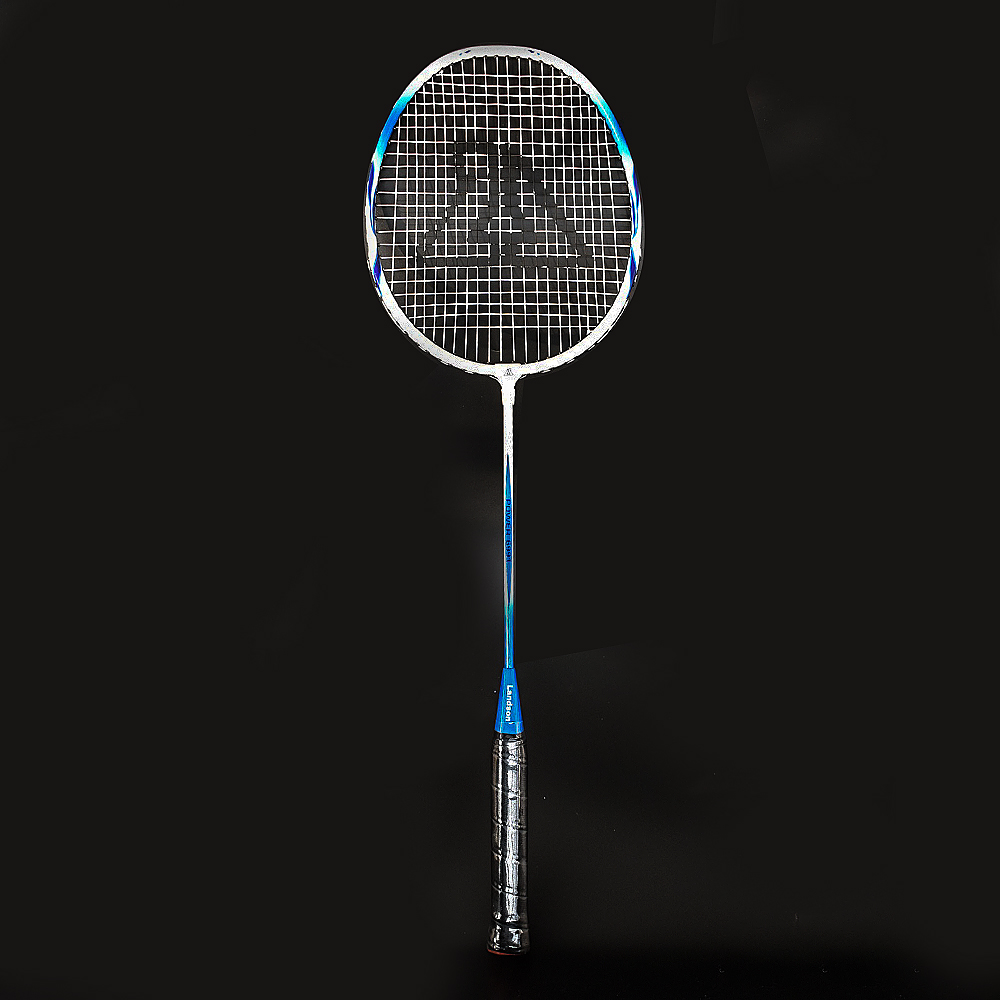 Landson Has A Pair Of Aluminum Alloy Offensive And Defensive  Badminton Rackets Three-dimensional Woven Badminton Racket