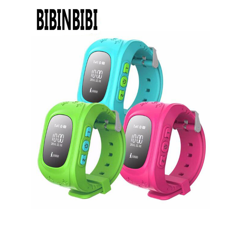 GPS Kids Smart Watch Phone with SOS Call Baby Tracker Safe Monitor Location Finder Child Positioning Smartwatch for Children