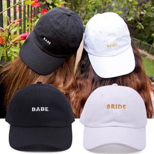 Бейсбольная кепка для невесты, летние дышащие подарки, свадебные украшения для гостей, вечерние кепки в стиле хип-хоп
