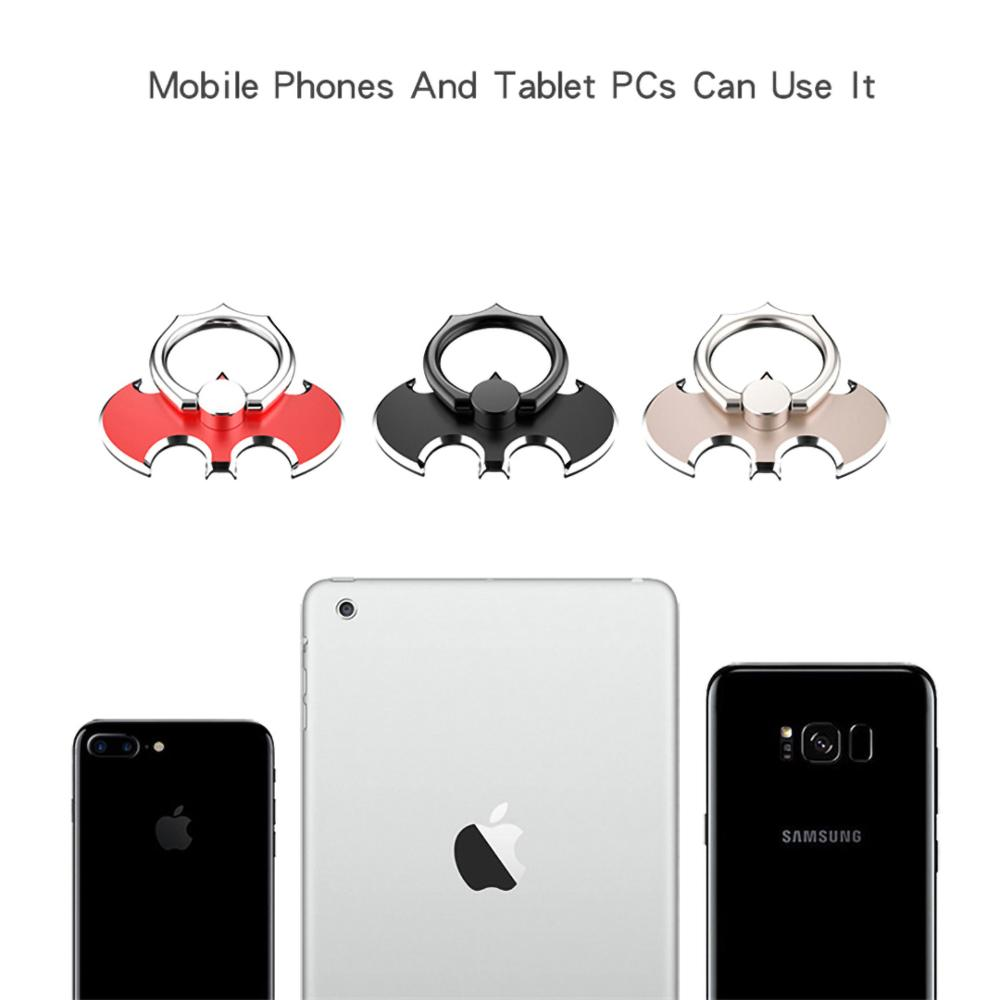 Fashion Bat Phone Stand For IPhone11pro XS Xiaomi Samsung Cool Finger Ring Holder Tablet Smartphone Desk Bracket